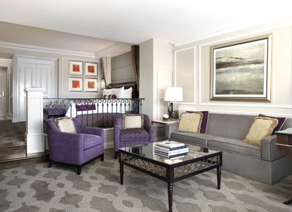 Living Room | Luxury View Suite + Luxury View Suite | The Venetian Resort Hotel & Casino