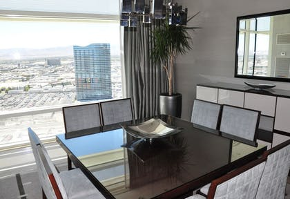 Dining room | Sky Suites Two Bedroom Penthouse – Mountain View | ARIA Resort & Casino Las Vegas