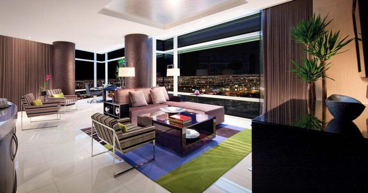 Penthouse two bedroom sky suite at aria resort casino - 2 bedroom penthouses in las vegas ...