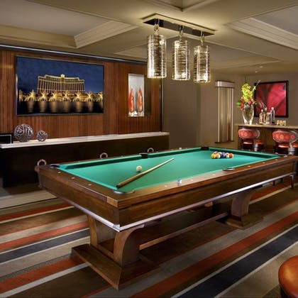Billiards | Executive Parlor Suite | Bellagio