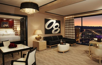 Living Area | Encore Parlor Suite | Encore at Wynn Las Vegas