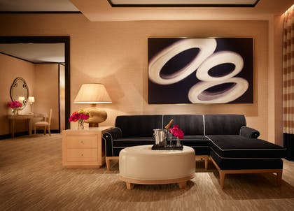 Lounge Area | Encore Parlor Suite | Encore at Wynn Las Vegas