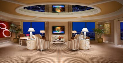 Living Area | Encore Salon Suite | Encore at Wynn Las Vegas