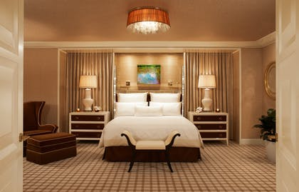 Bedroom | Encore Salon Suite | Encore at Wynn Las Vegas