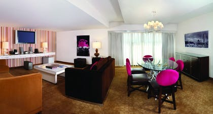 Living Room | Cosmopolitan Suite | Flamingo Las Vegas