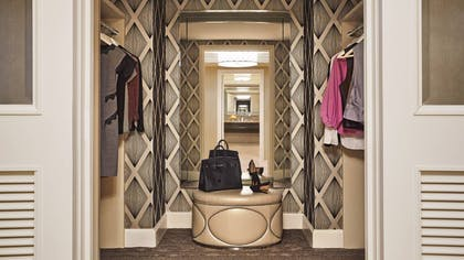 Closet | Sunrise Sunset Suite | Four Seasons Hotel Las Vegas
