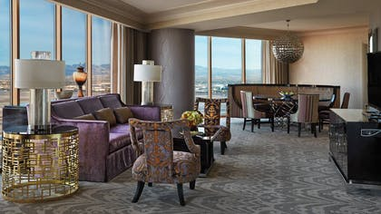 Living Room | Sunrise Sunset Suite | Four Seasons Hotel Las Vegas