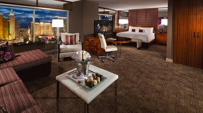 Bed | Tower Spa Suite | MGM Grand Hotel & Casino