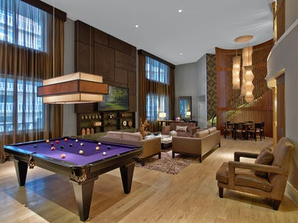 Living Room | Nobu Penthouse + King Room + Double Queens Room | Nobu Hotel at Caesars Palace