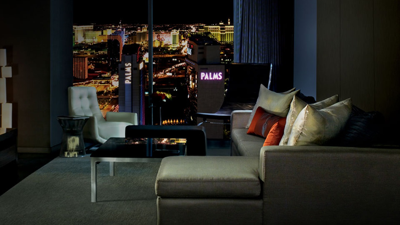 One Bedroom Suite Palms Place Hotel And Spa At The Palms Las Vegas Suiteness
