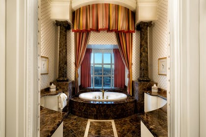 Bathroom | Louis XV Suite | Eiffel View | Paris Las Vegas