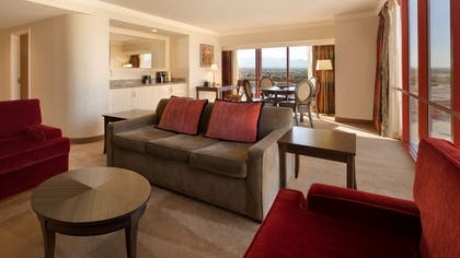 Living Room | Carioca Suite | 2 Queens | Rio All-Suite Hotel & Casino