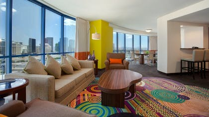 Living Room | Masquerade Suite + 1 King | Rio All-Suite Hotel & Casino
