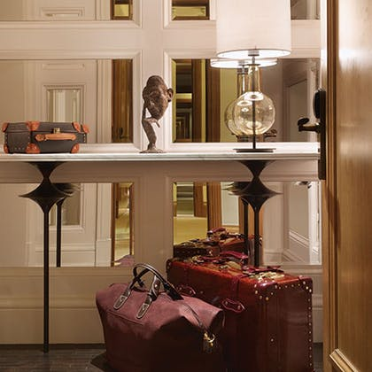 Entrance | The Explorer's Penthouse  | Corinthia Hotel London