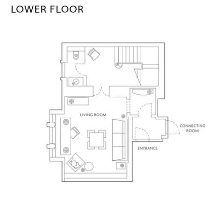 Floorplan | The Explorer's Penthouse  | Corinthia Hotel London