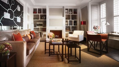 Living room | The Explorer's Penthouse  | Corinthia Hotel London