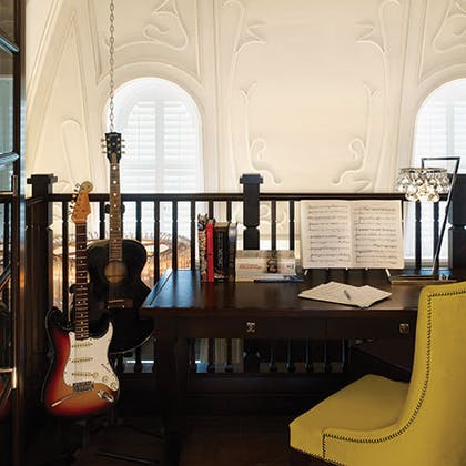 Desk | The Musician's Penthouse | Corinthia Hotel London