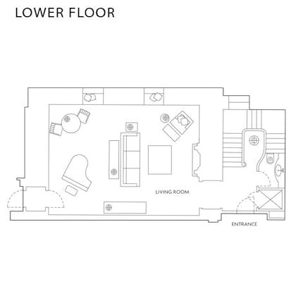 Floorplan | The Musician's Penthouse | Corinthia Hotel London