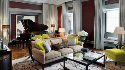 Living room | The Musician's Penthouse | Corinthia Hotel London