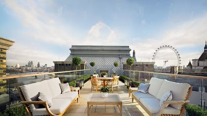 Terrace | The Musician's Penthouse | Corinthia Hotel London