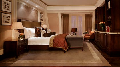 Bedroom | The Writer's Penthouse | Corinthia Hotel London