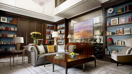 Living room | The Writer's Penthouse | Corinthia Hotel London