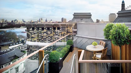 Rooftop | The Writer's Penthouse | Corinthia Hotel London