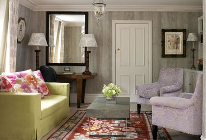 Living room | One Bedroom Terrace Suite  | Covent Garden Hotel