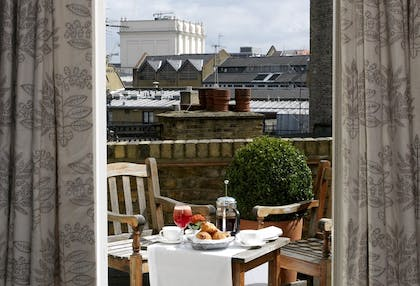 Terrace | One Bedroom Terrace Suite  | Covent Garden Hotel