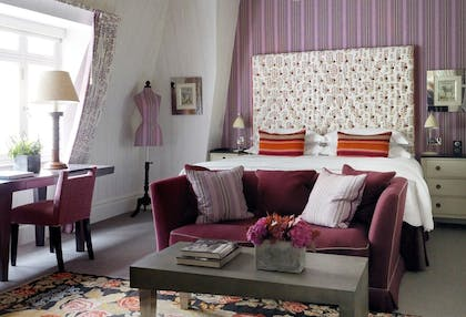 Bedroom | Two Bedroom Terrace Suite | Covent Garden Hotel