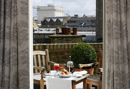 Terrace | Two Bedroom Terrace Suite | Covent Garden Hotel