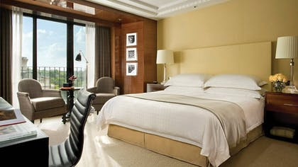 Bedroom | Ambassador Suite + Guestroom | Four Seasons Hotel London at Park Lane