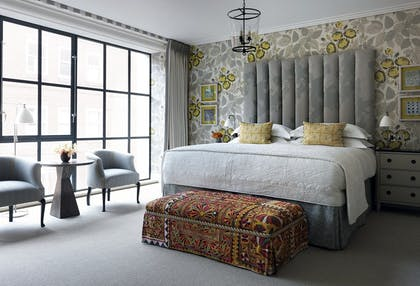 Bedroom | One Bedroom Suite | Ham Yard Hotel