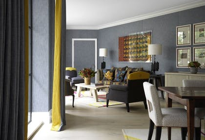 Living room | The Courtyard Suite | Ham Yard Hotel
