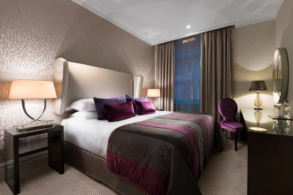 Bedroom 2 | Falconers Two Bedroom Suite + Falconers One Bedroom Suite | Taj 51 Buckingham Gate Suites and Residences