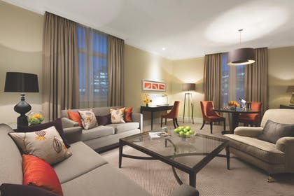 Living room | Falconers Two Bedroom Suite + Falconers One Bedroom Suite | Taj 51 Buckingham Gate Suites and Residences
