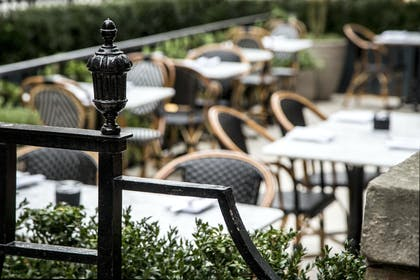 Dalloway Terrace Detail | The Bloomsbury Hotel