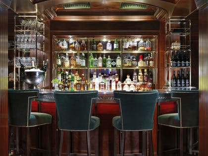 The Bloomsbury Club Bar Close Up | The Bloomsbury Hotel