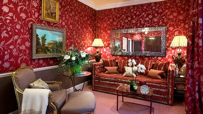 Living room | The V & A Suite | The Egerton House Hotel