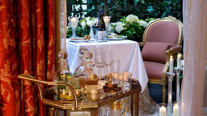 Terrace | The V & A Suite | The Egerton House Hotel