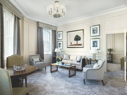 One Bedroom Residence - Living Room | One Bedroom Residence + Executive Room | The Langham Hotel, London