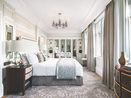 One Bedroom Suite - Bedroom | One Bedroom Suite + Deluxe Room | The Langham Hotel, London
