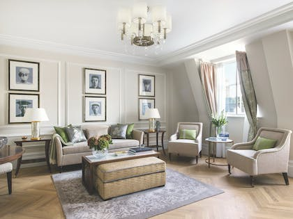Living Room | One Bedroom Suite | The Langham Hotel, London