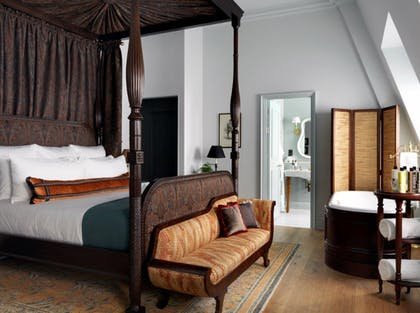 Bedroom | Studio Suite | The Ned Hotel