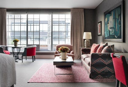 Living room | One Bedroom SoHo Suite | The Soho Hotel