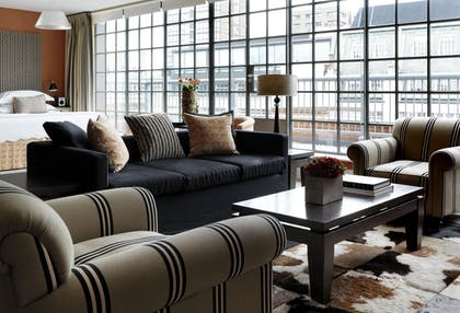 Living room | Penthouse Suite | The Soho Hotel