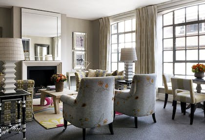 Dining room | Two Bedroom Richmond Suite | The Soho Hotel