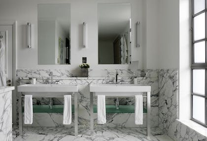 Bathroom | Two Bedroom Terrace Suite  | The Soho Hotel