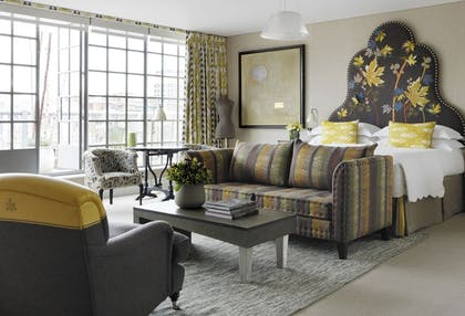 Bedroom | Two Bedroom Terrace Suite  | The Soho Hotel