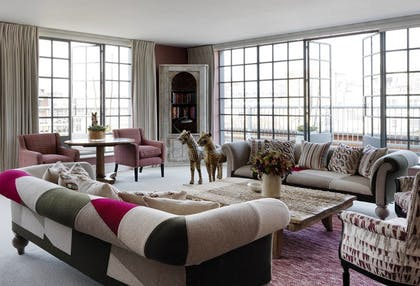 Living room | Two Bedroom Terrace Suite  | The Soho Hotel